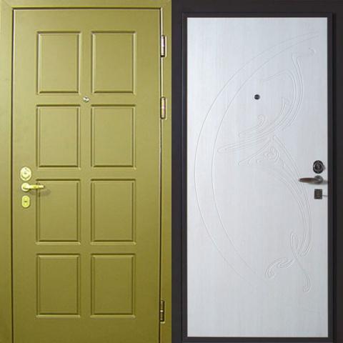 металлические двери о